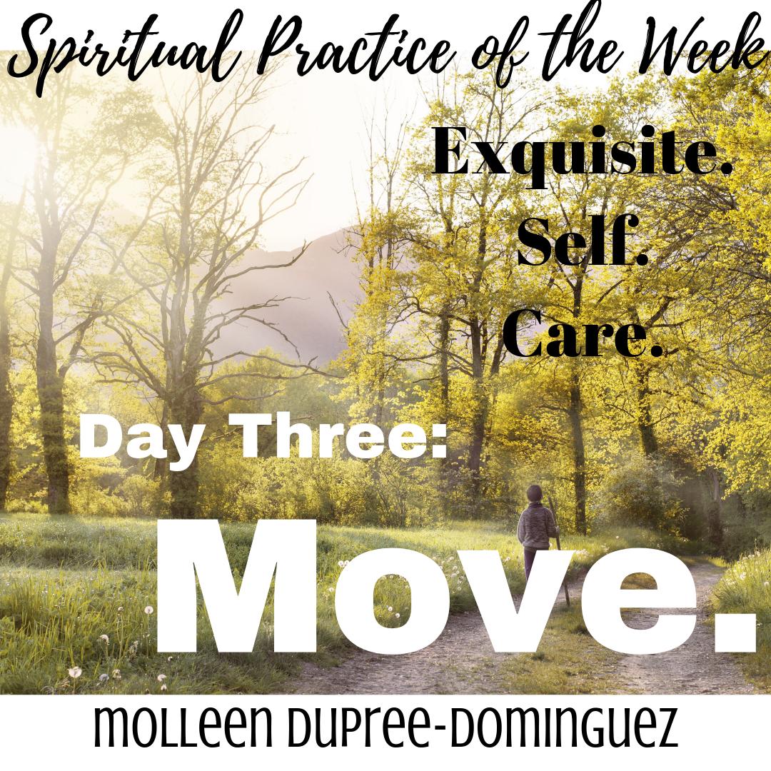 Follow along on Instagram this week with #spiritualpracticeoftheweek